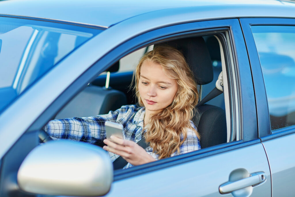 Distracted drivers - personal injury law